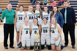 Lady Bison Win Championship